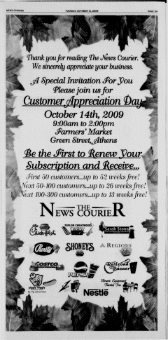 Athens News Courier, October 13, 2009, Page 10