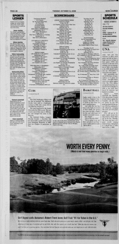 Athens News Courier, October 13, 2009, Page 20