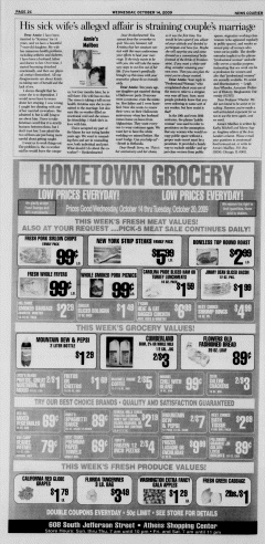 Athens News Courier, October 14, 2009, Page 39