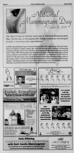 Athens News Courier, October 16, 2009, p. 11