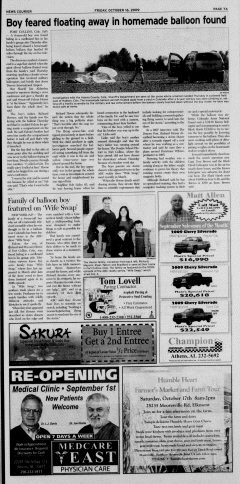 Athens News Courier, October 16, 2009, p. 13