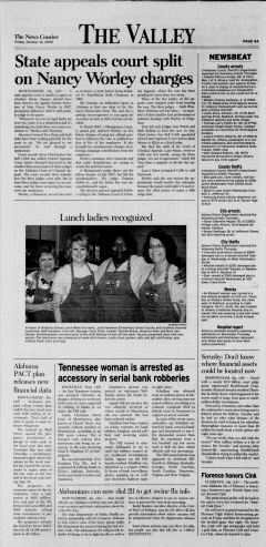 Athens News Courier, October 16, 2009, p. 8