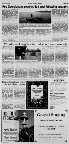 Athens News Courier, October 18, 2009, p. 9
