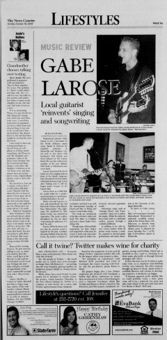 Athens News Courier, October 18, 2009, p. 17