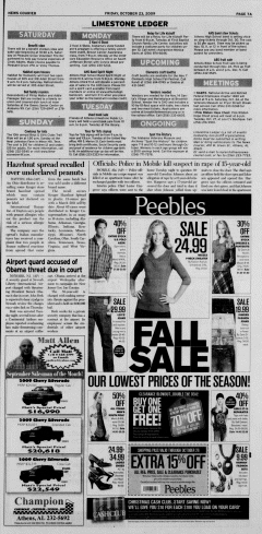Athens News Courier, October 23, 2009, Page 13