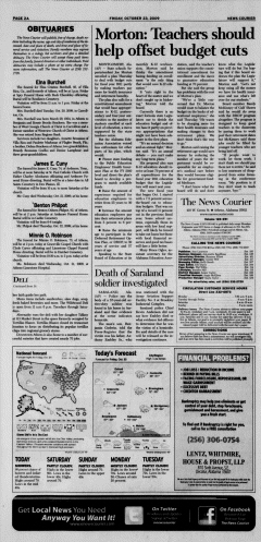 Athens News Courier, October 23, 2009, Page 4
