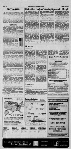 Athens News Courier, October 24, 2009, p. 4