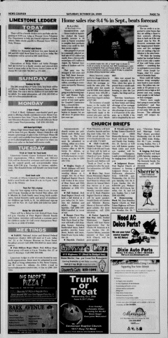 Athens News Courier, October 24, 2009, p. 14
