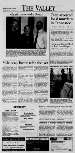Athens News Courier, October 25, 2009, p. 11