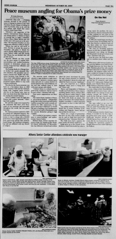 Athens News Courier, October 28, 2009, Page 29