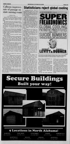 Athens News Courier, October 28, 2009, Page 41