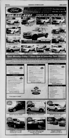Athens News Courier, October 28, 2009, Page 32