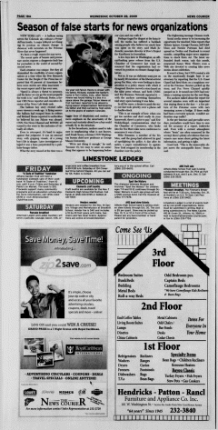 Athens News Courier, October 28, 2009, Page 36