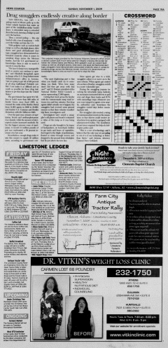Athens News Courier, November 01, 2009, Page 37