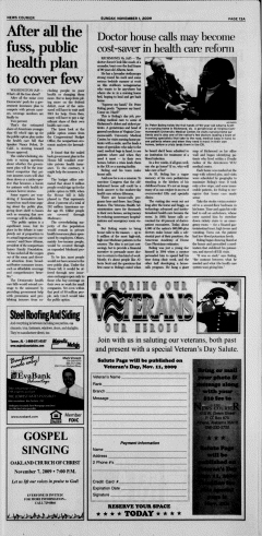 Athens News Courier, November 01, 2009, Page 26