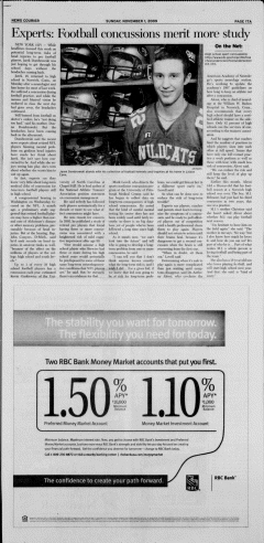 Athens News Courier, November 01, 2009, Page 34