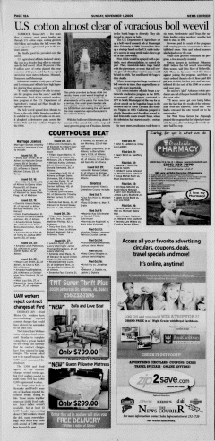 Athens News Courier, November 01, 2009, Page 36