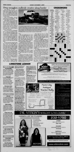 Athens News Courier, November 01, 2009, Page 38