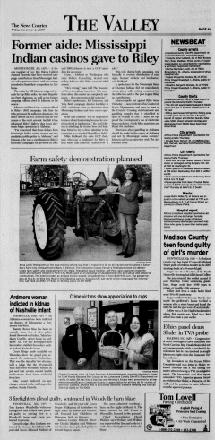 Athens News Courier, November 06, 2009, Page 7