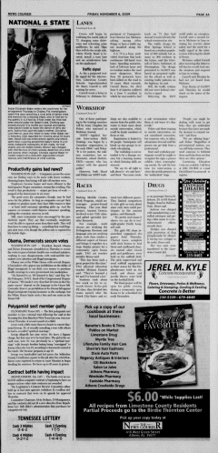 Athens News Courier, November 06, 2009, Page 6