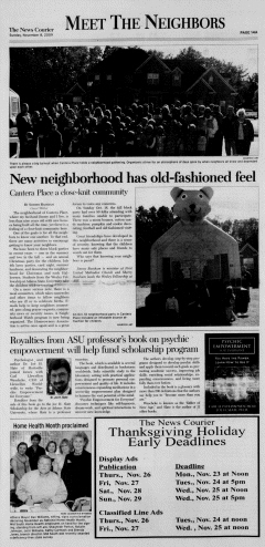 Athens News Courier, November 08, 2009, Page 27