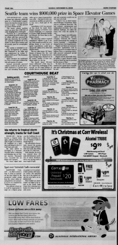 Athens News Courier, November 08, 2009, Page 35