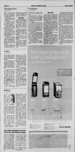 Athens News Courier, November 08, 2009, Page 16