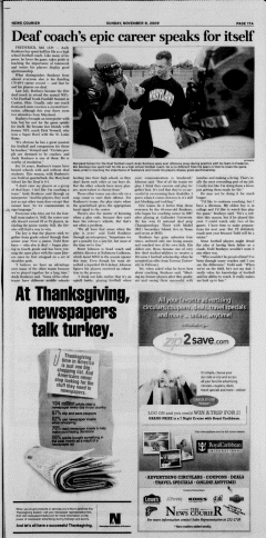 Athens News Courier, November 08, 2009, Page 34