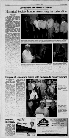 Athens News Courier, November 08, 2009, Page 40