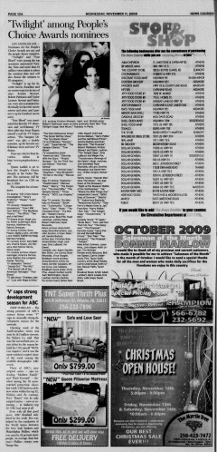 Athens News Courier, November 11, 2009, Page 19