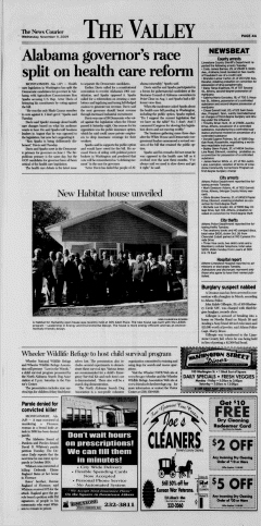 Athens News Courier, November 11, 2009, Page 8