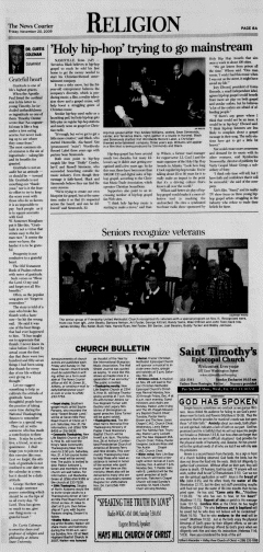 Athens News Courier, November 20, 2009, Page 15