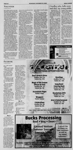 Athens News Courier, November 25, 2009, Page 11