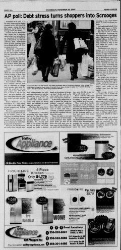 Athens News Courier, November 25, 2009, Page 19