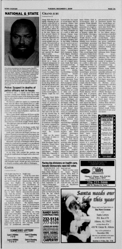 Athens News Courier, December 01, 2009, Page 6