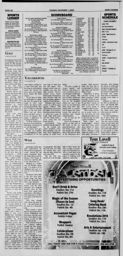 Athens News Courier, December 01, 2009, Page 16