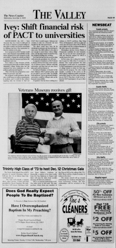 Athens News Courier, December 02, 2009, Page 7