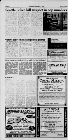 Athens News Courier, December 02, 2009, Page 12