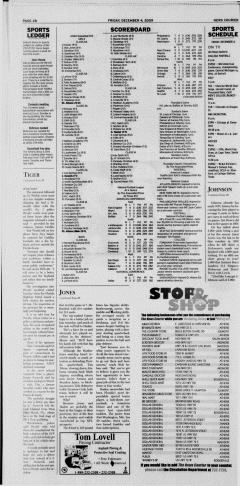 Athens News Courier, December 04, 2009, Page 32