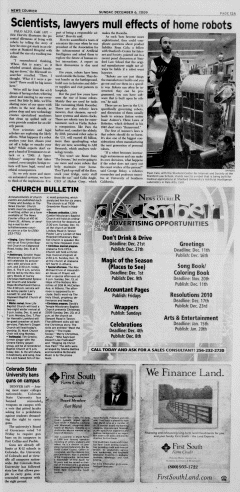 Athens News Courier, December 06, 2009, Page 25