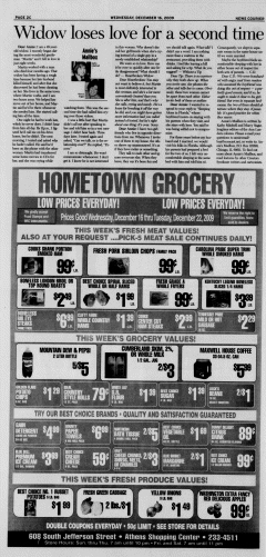 Athens News Courier, December 16, 2009, Page 35