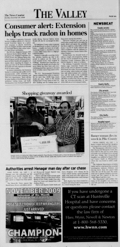 Athens News Courier, December 20, 2009, Page 11