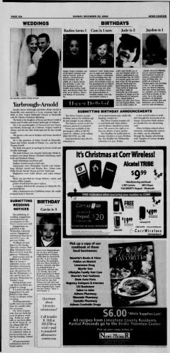 Athens News Courier, December 20, 2009, Page 20