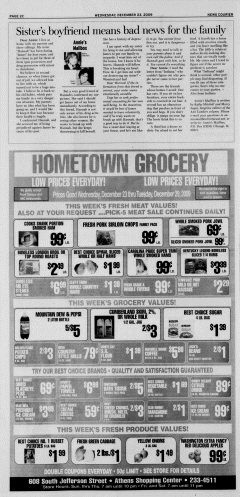 Athens News Courier, December 23, 2009, Page 35