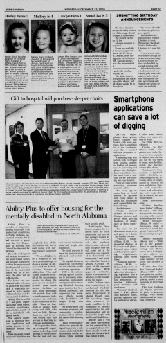 Athens News Courier, December 23, 2009, Page 37