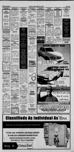 Athens News Courier, December 25, 2009, Page 42