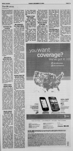Athens News Courier, December 27, 2009, Page 13
