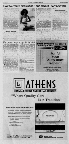Athens News Courier, December 27, 2009, Page 35