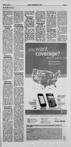 Athens News Courier, December 27, 2009, Page 14