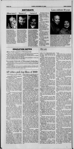 Athens News Courier, December 27, 2009, Page 20